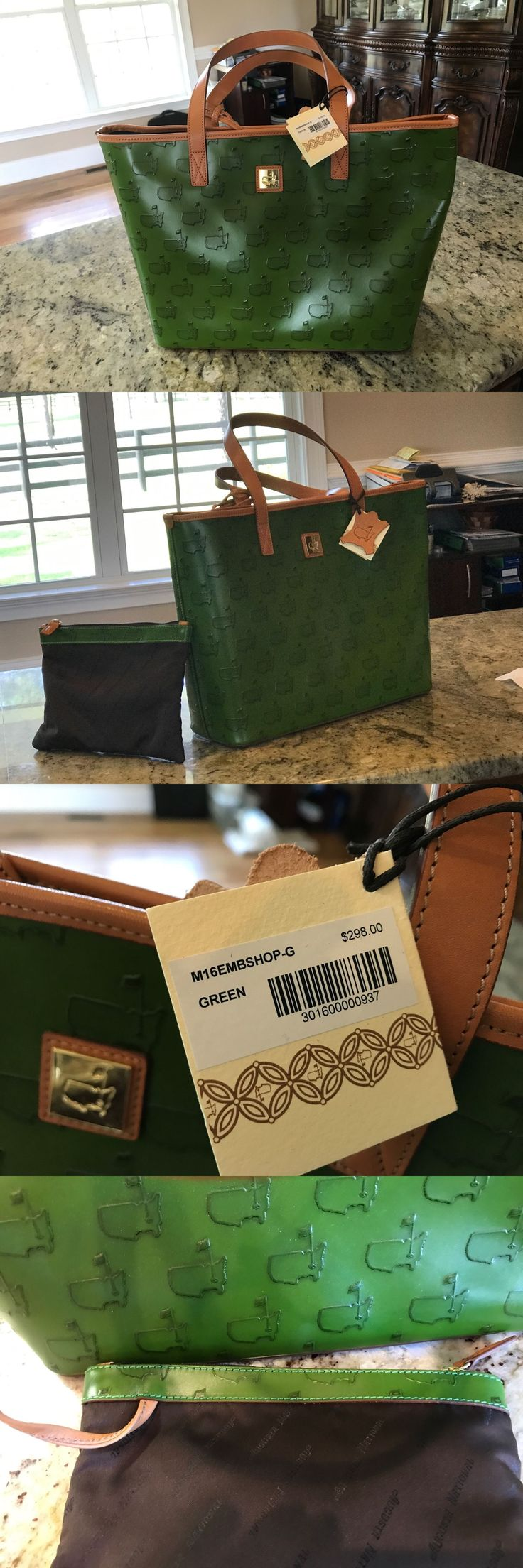 Golf 428: Augusta National Masters Golf Tournament Authentic Ladies Handbag And Purse -> BUY IT NOW ONLY: $292 on eBay!