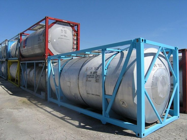 20ft ISO Tank Containers http://www.chassisking.com/products/freight-containers/iso-tank-container/