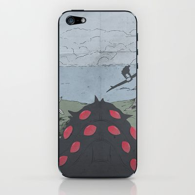 Nausicaa of the Valley of the Wind iPhone & iPod Skin by OurbrokenHouse - $15.00