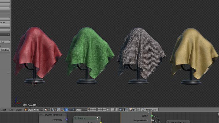 makingproceduralfabricmaterials – PlanetBlender