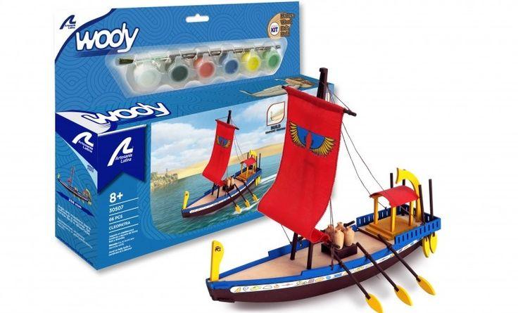 Artesanía Latina 30507 - Kit para niños barco Cleopatra, IndalChess.com Tienda de juguetes online y juegos de jardin