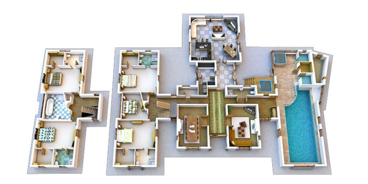 Double Storey House With Bedrooms Upstairs 5 Bed 5 Bath Sims House Ideas