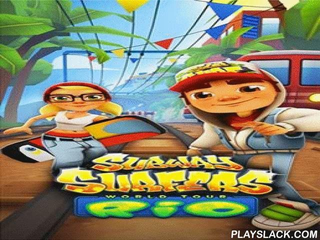 Subway Surfers: World Tour Rio  Android Game - playslack.com , a voyage to a solar Brazilian municipality - Rio de Janeiro.