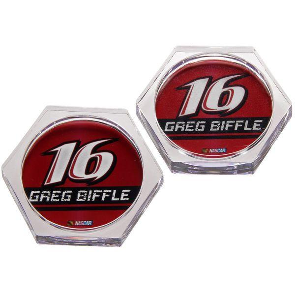 Greg Biffle Acrylic Coaster 2-Pack