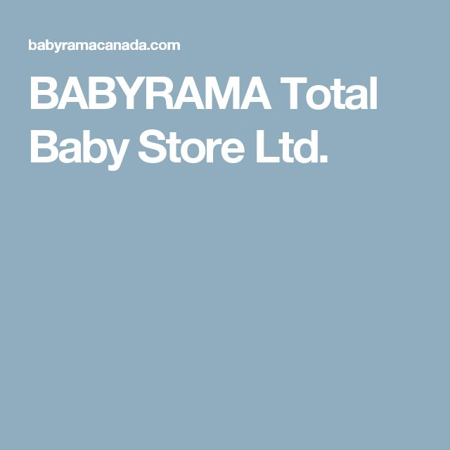 BABYRAMA Total Baby Store Ltd.