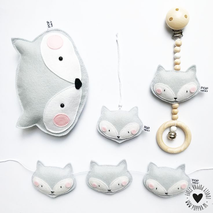 De mooiste handgemaakte decoratie voor baby en kinderkamer
