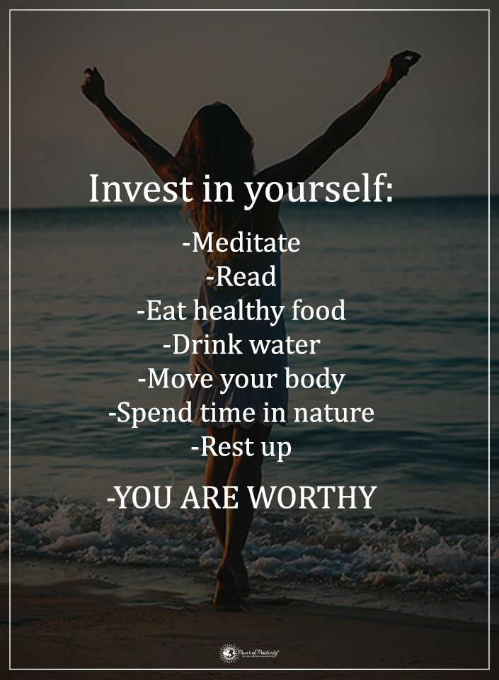 Invest In Yourself: