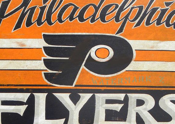 philadelphia flyers print with mat art wall decor 11 by 14