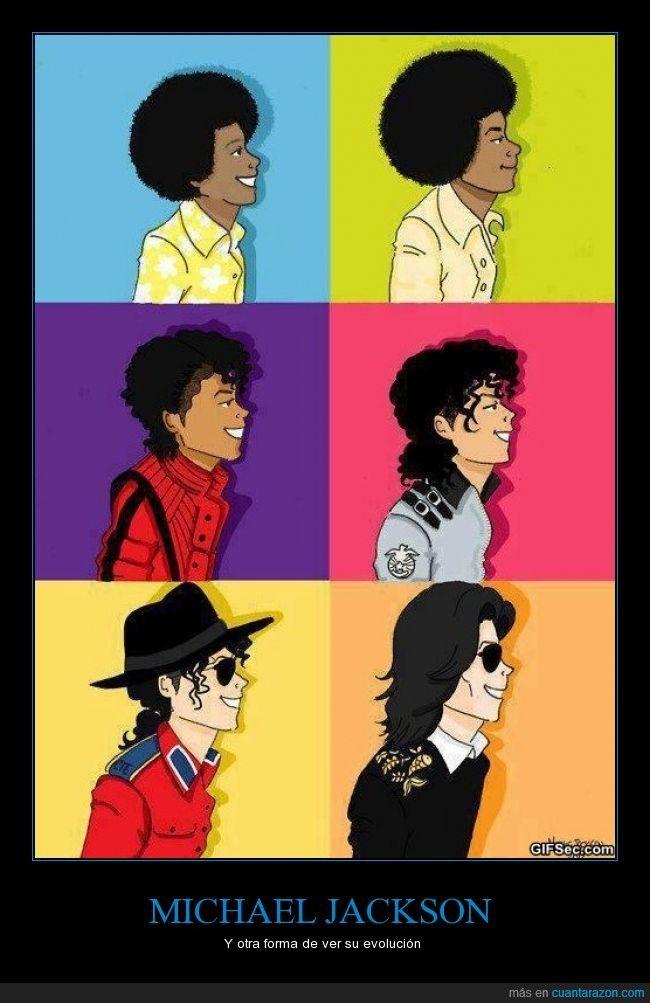 La vida del Rey del Pop - Y otra forma de ver su evolución #MichaelJackson