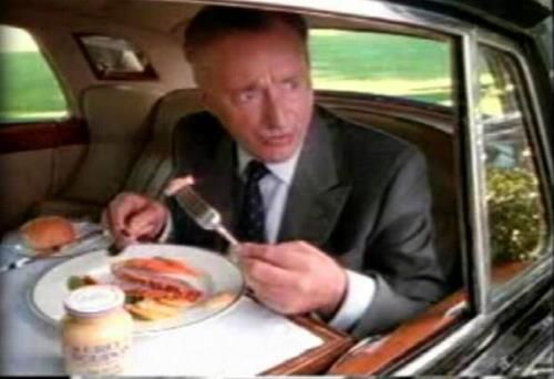 Pardon me, would you have any Grey Poupon?