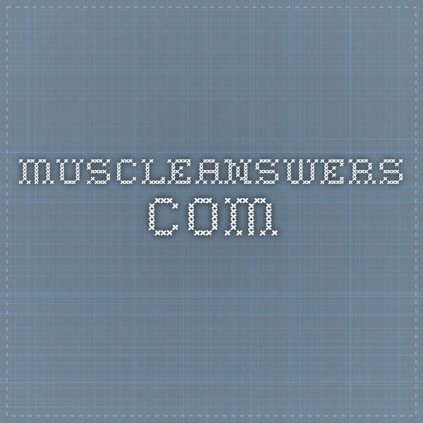 muscleanswers.com