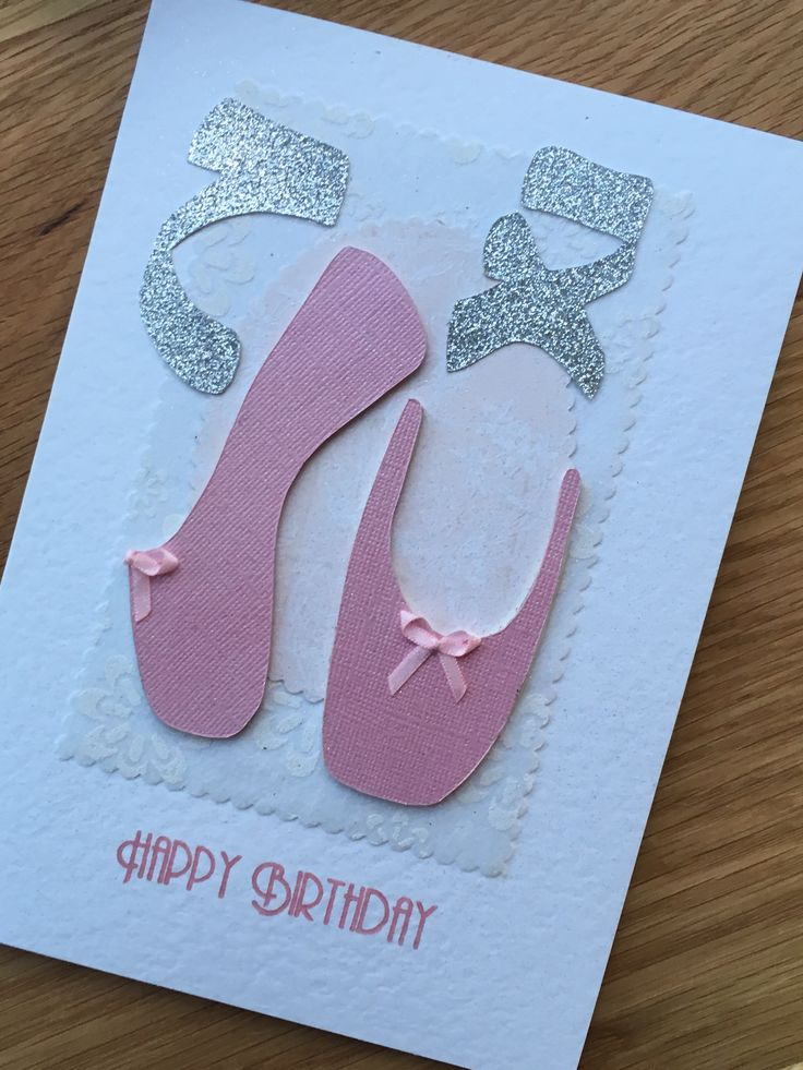 A birthday card for my beautiful ballerina daughter x