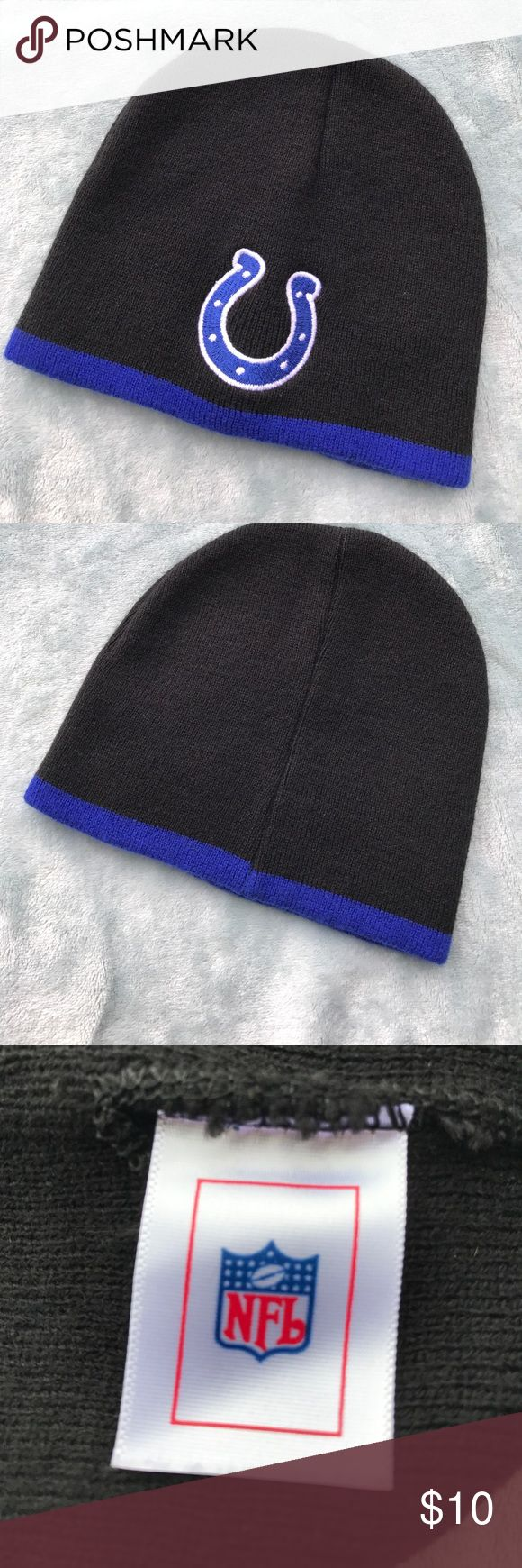 NFL COLTS BEANIE NFL COLTS BEANIE. EUC. NFL Accessories Hats