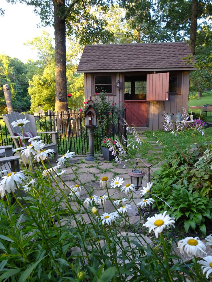 2015 best images about rustic garden sheds porches for Rustic shed with porch