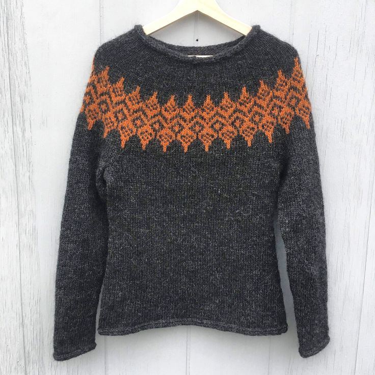 *ISBLOMST* sweater. Design: Hanne Rimmen Ny Nordisk mønster, 2018 On Ravelry
