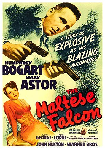 'The Maltese Falcon, 1941' (1) Starring Humphrey Bogart