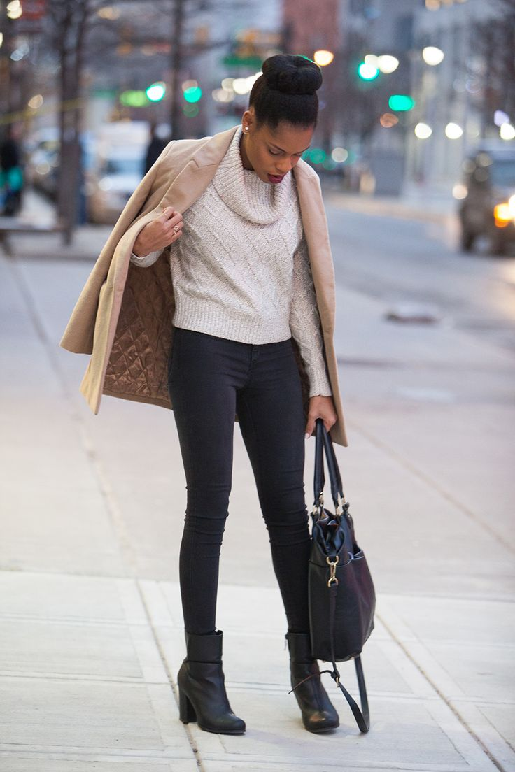 20 Ways to Rock a Cropped Sweater in the Winter   StyleCaster