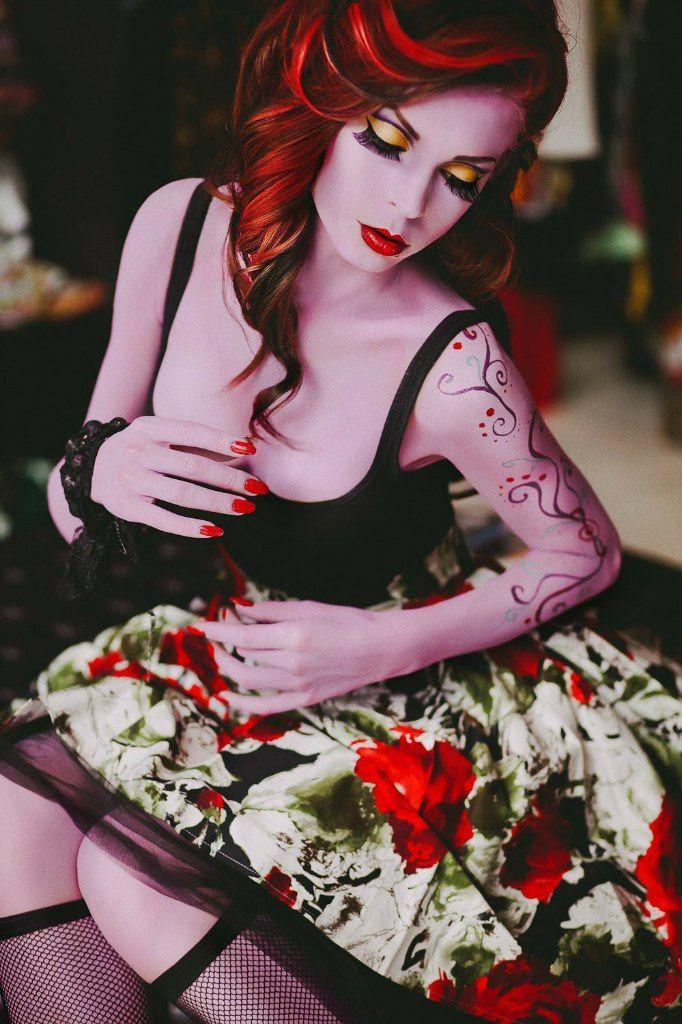 Living Doll Operetta. Original Cosplay.  Photo: Svetlana Bunya Make-up: Dariya Bokatanova Bodyart, hair style: Bast Miriam (me) Model: Lyudm...