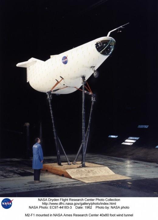 "NASA Dryden M2-F1 ""Wingless Vehicle"", 1963-66   Retronaut"