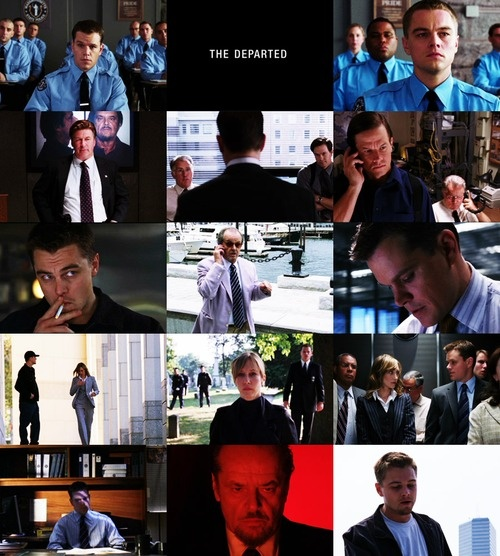 The departed cinematography
