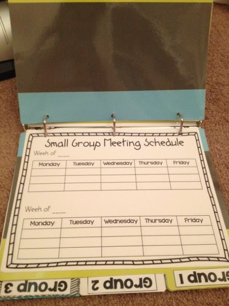 Guided Math and Math Workshop binder to help you get organized. Also a total guide to get started!