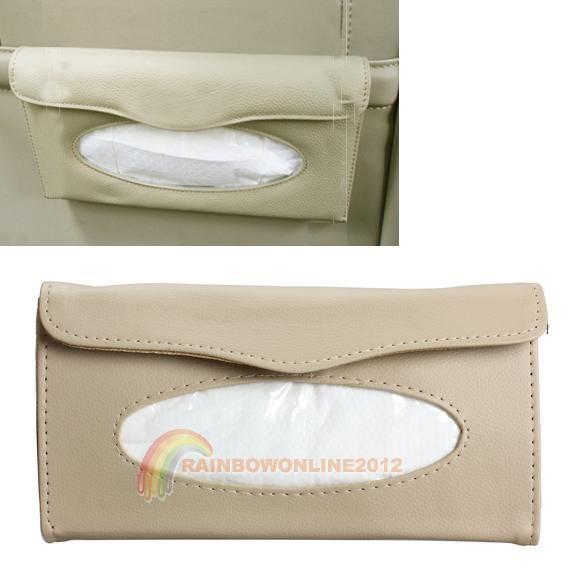 R1B1 Бумажные Полотенца Держатель Салфеток Коробка Ткани Чехол для Автомобилей Солнцезащитный Козырек