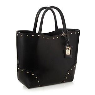 Faith Black Studded Tote Bag - Shopper & tote bags - Handbags & purses - Women - Debenhams Mobile