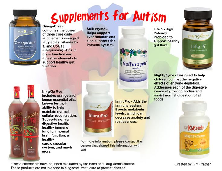 Autism Essential Oils for Autistic Child - Young Living