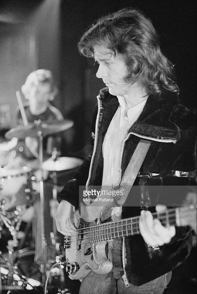 Bass player John Wetton of progressive rock band King Crimson, circa 1972.