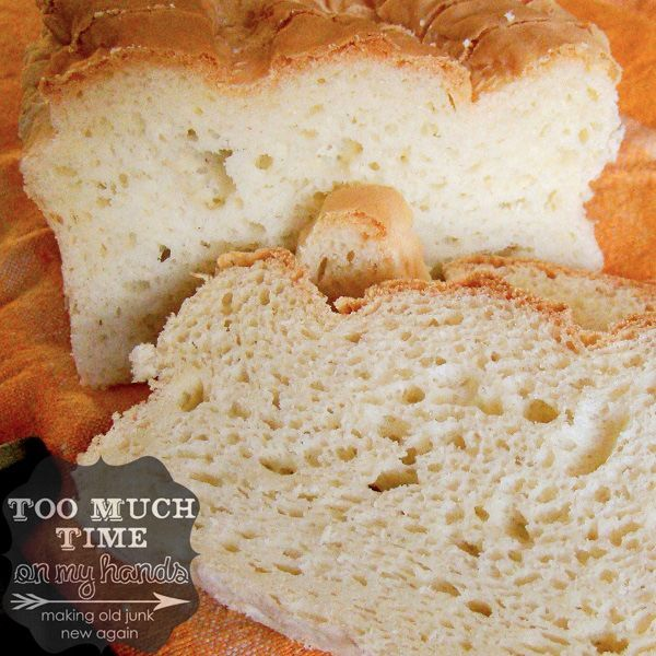 Foolproof Gluten Free -sandwich style bread recipe from Too Much Time ...