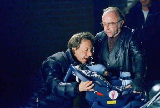 "Director Kim Manners, Tom Braidwood & Baby William | The X Files | ""Provenance"""