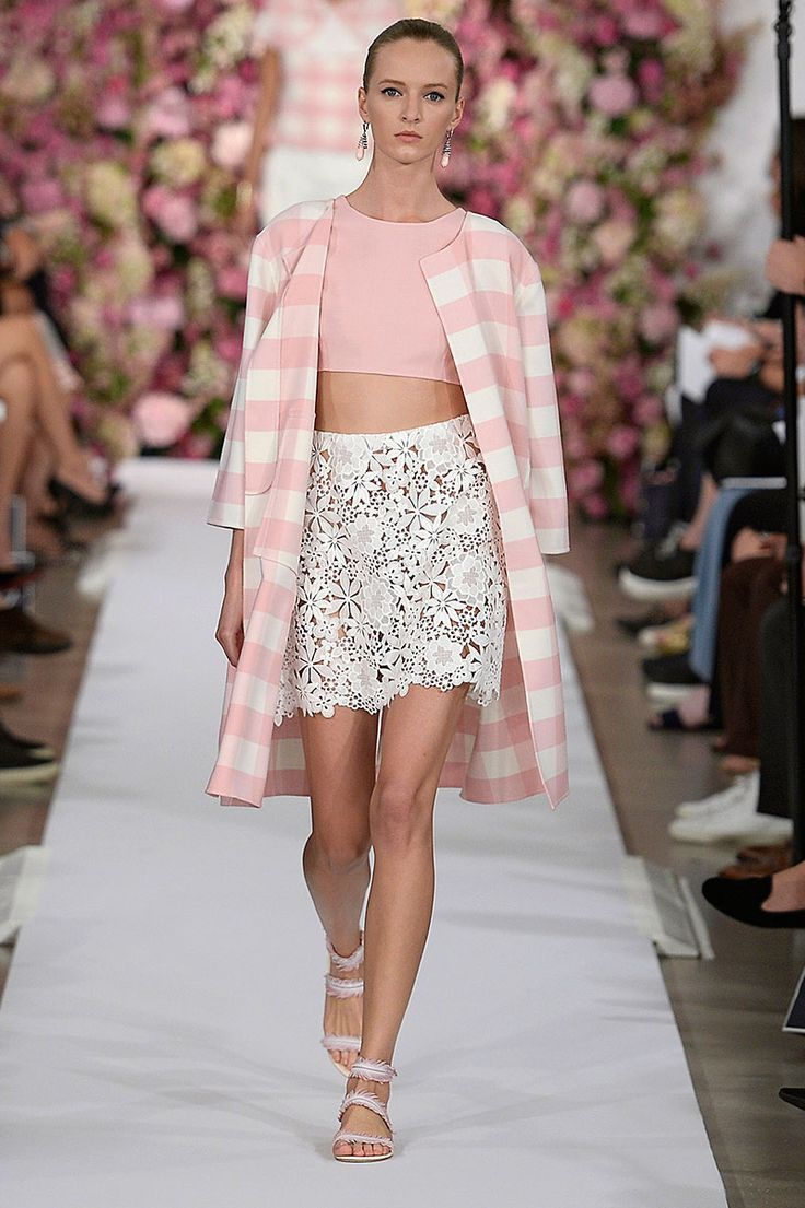 Gingham Trend for Spring 2015 - Gingham Takes the Spring 2015 Runways - Elle