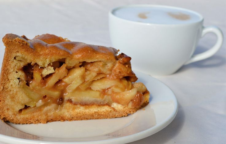 Heerlijke #appeltaart met @cappuccino