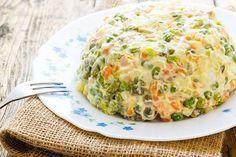 Ensaladilla Rusa Fácil Te enseñamos a cocinar recetas fáciles cómo la receta de Ensaladilla Rusa Fácil y muchas otras recetas de cocina..