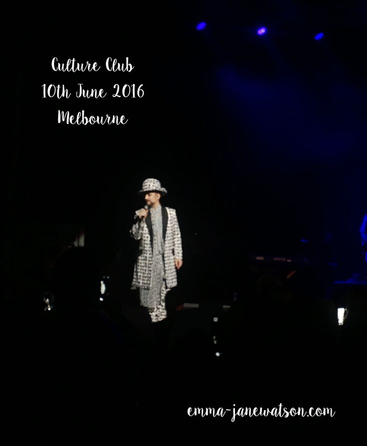 The healing powers of Boy George in concert.