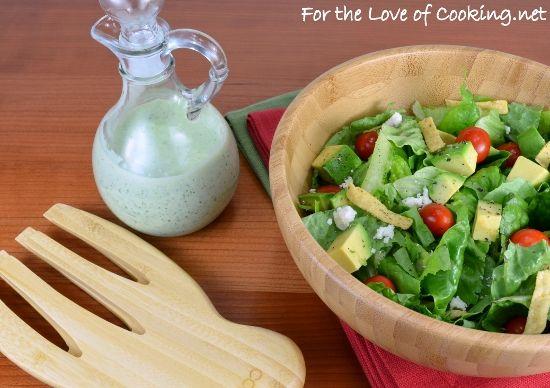 Creamy cilantro dressing | Delish | Pinterest