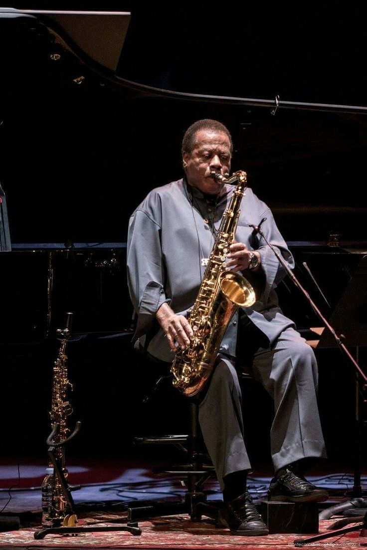 Wayne Shorter. I saw him in Austin, 2016. He could barely get air through the horn.