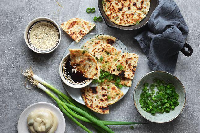 Kublanka vaří doma - Čínské cibulové placky