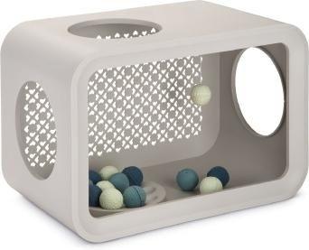 Beeztees cat cube play, dune grey 49 x 29 x 32,6 cm - Beeztees