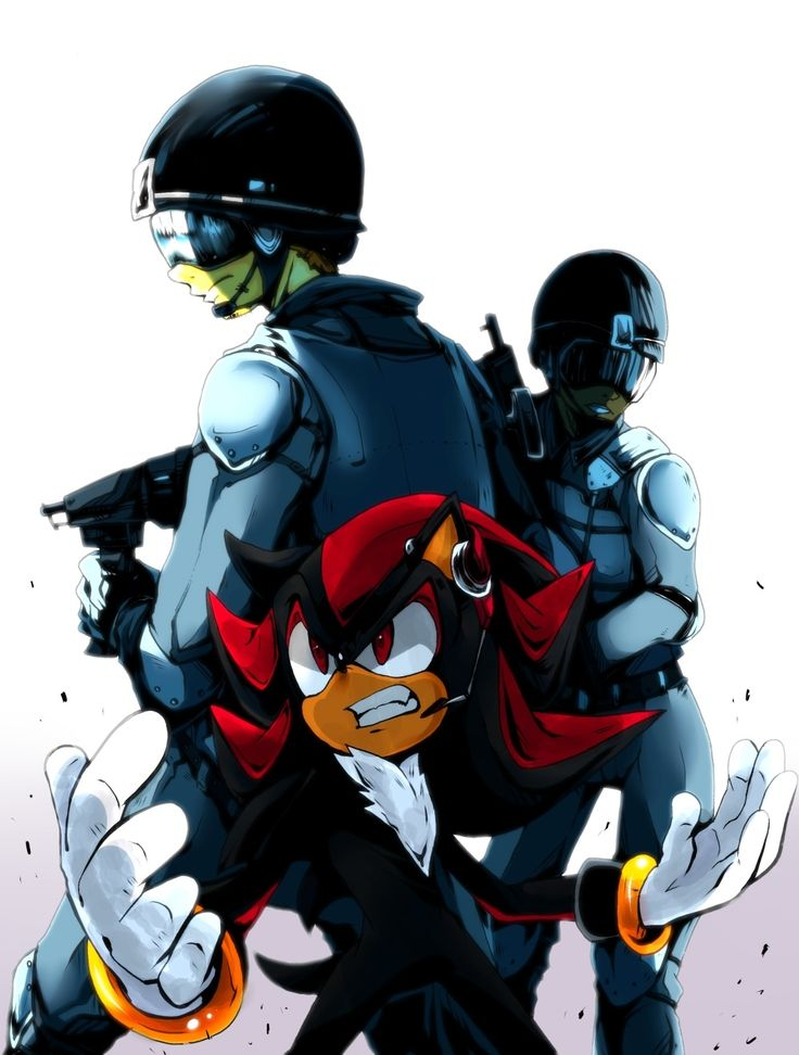 Shadow the Hedgehog GUN | Tags: Anime, Sonic the Hedgehog, Shadow The Hedgehog, Sega, Team Dark