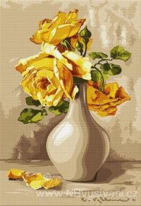 HU-B572 Žluté růže
