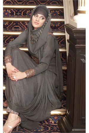Silver Roman Empress | imaancollections.com | ..for hijabs, abaya, jilbabs, high fashion muslim apparel  islamic clothing. Vibrant festival dress  bridal wear for stylish, bold wom