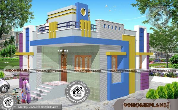 1 Floor House Design With Best Single Simple Affordable Price