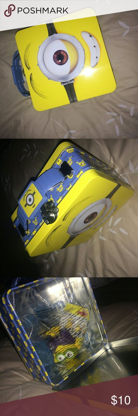 Minion Lunch Box Never used- Lunch Box/ New Other
