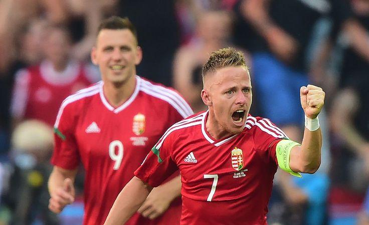 Dzsudzsák for Hungary #EURO2016