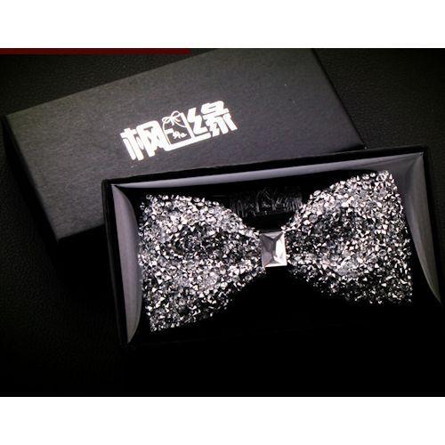 Adult Men Women Silver Sequin Wedding Dress Suit Tuxedo Bow Tie SKU-71114026