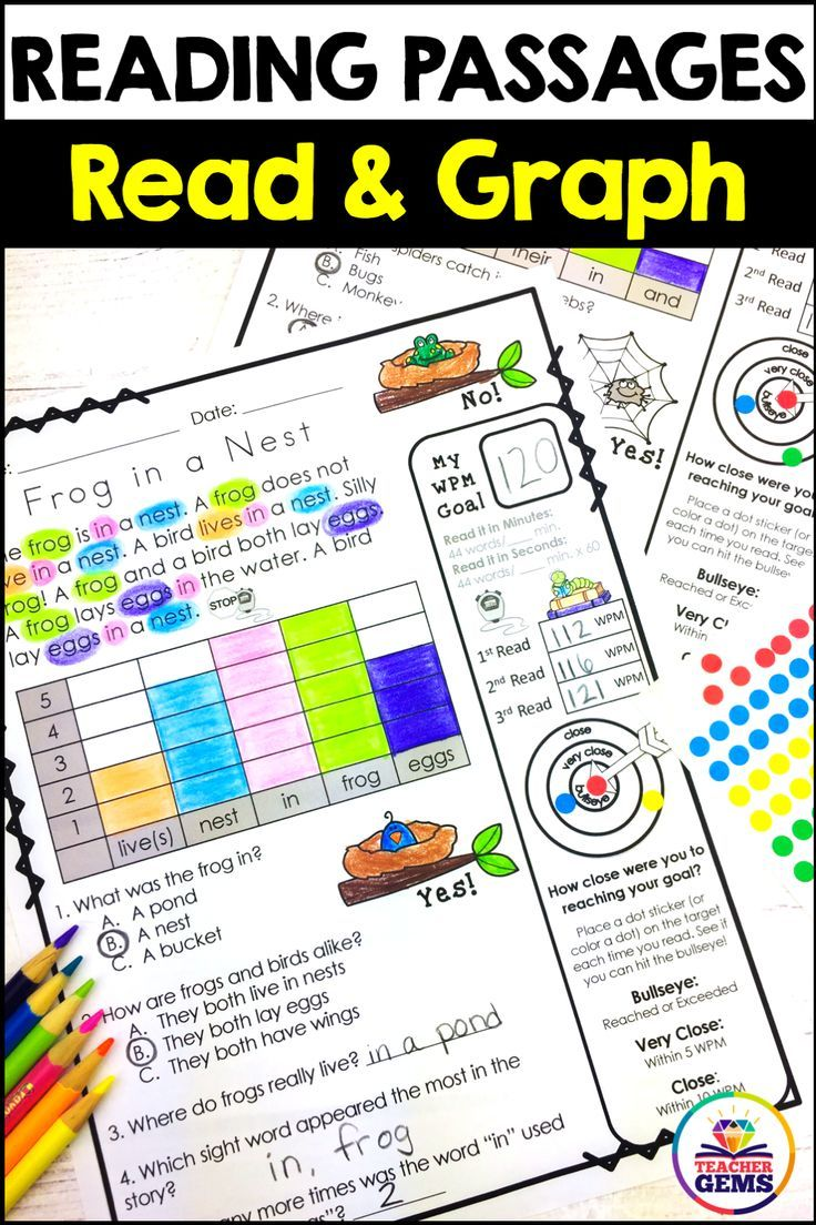 Reading Passages Read And Graph Silly Set 1 Reading Passages Reading Fluency Teaching Third Grade [ 1104 x 736 Pixel ]