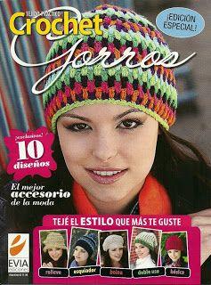 Crochet con amor: Bellos gorros a crochet,de la web :)