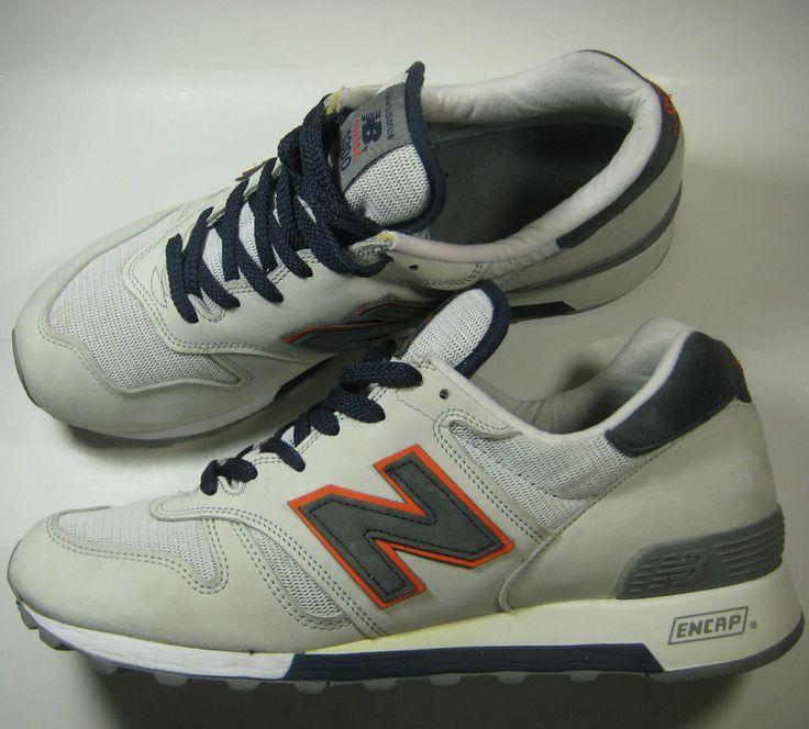 NEW BALANCE 1300 Classic Cream Navy Orange Vtg RARE Sneakers Running  Training #NewBalance #RunningCrossTraining