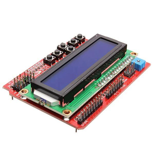 LCD Keypad Shield V2.0 LCD Expansion Board For Arduino